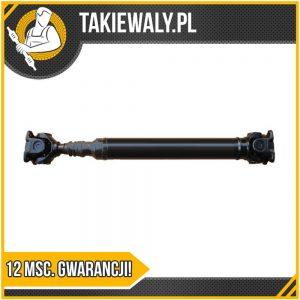 Wał napędowy LR Discovery 2, 1998-04 GKN przód L=605mm ORGINAŁ